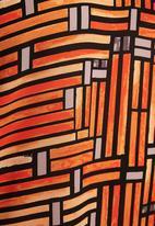 Next - Woven vest in orange print Multi-colour