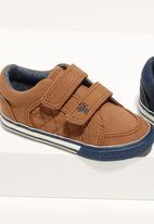 Next - Double Strap Shoes Camel/Tan