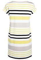 Next - Striped Tunic Yellow/ White
