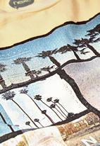 Next - LA Print T-shirt Yellow