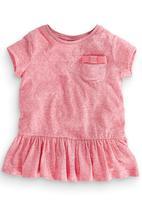Next - Peplum Tunic Mid Pink