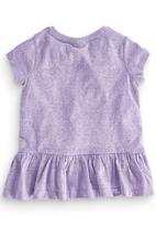 Next - Peplum Tunic Pale Purple