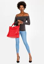 Dazzle - Printed Tote Bag Red