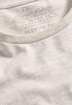 Next - Crew-neck T-shirt Beige