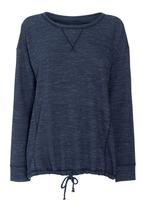 Next - Bubble Hem Sweater Navy