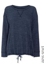 Next - Bubble Hem Sweater Navy