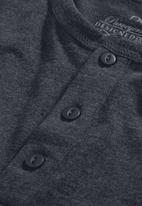 Next - Grandad T-shirt Dark Grey