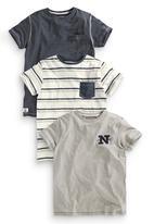 Next - 3-pack T-shirts Mid Blue