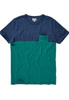 Next - Colourblock T-shirt Green