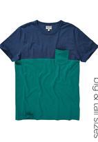Next - Colourblock T-shirt Green