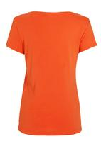 Next - V-neck T-shirt Orange
