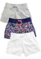Next - 3-Pack Shorts Multi-Colour