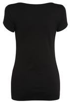 Next - V-neck T-shirt Black