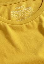 Next - Crew-neck T-shirt Yellow