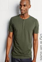 Next - Grandad T-shirt Green