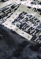 Next - Scribble T-shirt Navy