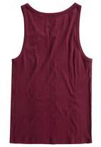 Next - Burgundy Vest Red
