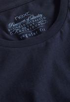 Next - Crew-neck T-shirt Navy