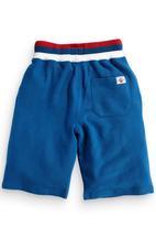 Next - Shorts With Chunky Rib Waistband Cobalt