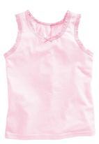 Next - Three Pack Vests Mid Pink
