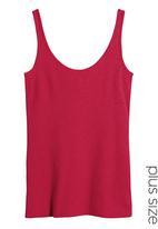Next - Scoop Vest Red