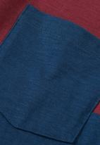 Next - Colourblock T-shirt Navy