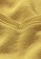 Next - V-neck T-shirt Yellow
