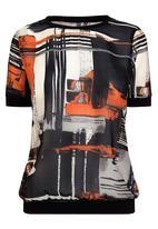 Next - Graphic woven top Multi-colour