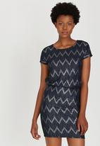 ONLY - Shimmer Cocktail Dress Navy