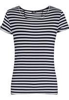 STYLE REPUBLIC - Gallant Striped Tee White