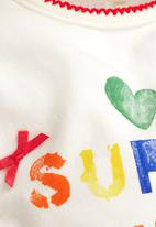 Next - Little Sister Slogan Sleepsuit And Headband Set Multi-Colour