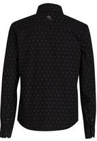 SOVIET - Printed Shirt Black