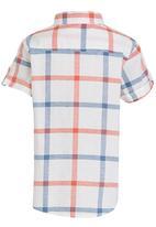 Soobe - Casual Check Shirt Blue