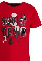 SOVIET - Printed Tee Red
