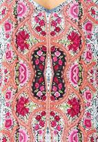 City Chic - Lace printed cami  Multi-colour