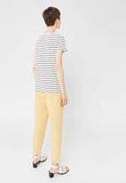 MANGO - Basic Tee Navy & White