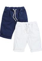 Next - Shorts 2-Pack Blue/White