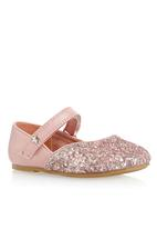 Next - Glitter Shoes Pale Pink