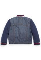 Next - Denim Jacket Mid Blue