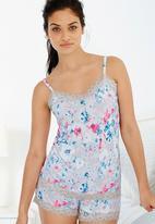 Next - Floral-printed sleepsuit Multi-colour