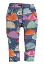 Next - Parasol-print Skinny Jeans Multi-colour