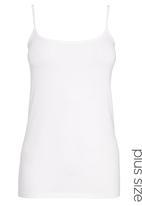 Next - Thin Strap Vest White