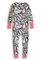 Next - Speech Bubble Onesie Multi-Colour