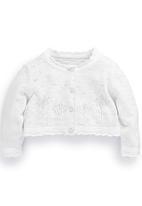 Next - Flower Cardigan White