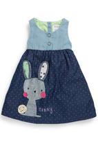 Next - Denim bunny dress Multi-colour