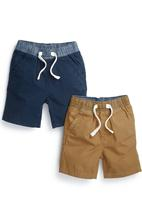 Next - 2-Pack Pull-On Shorts Multi-Colour