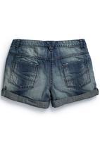Next - Denim Shorts Mid Wash Mid Blue