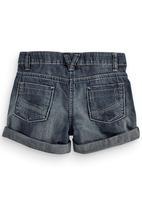 Next - Denim Shorts Dark Wash Dark Blue