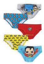 Next - Comic Hero Briefs 5-Pack Multi-Colour
