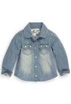 Next - Denim Shirt Mid Blue